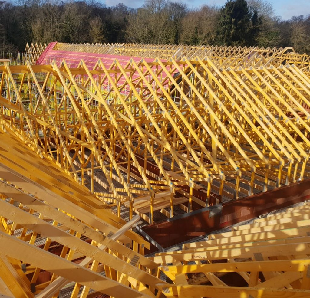 Roof Truss Harmony Timber Solutions Ireland Uk