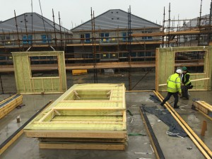 Timber Frame Panels, Wicklow, Ireland
