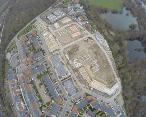 Residential Development Using Mixed Construction Methods