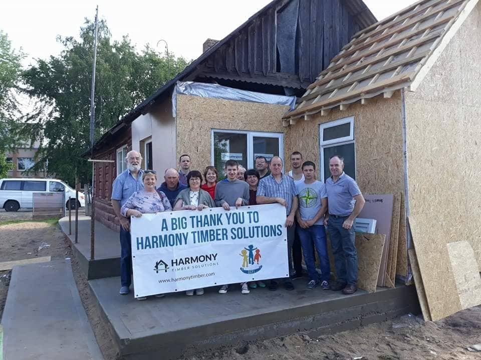 Harmony Timber Helps A Local Charity Harmony Timber Uk